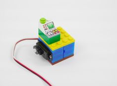 DESIGN A LEGO- COMPATIBLE SERVO HOLDER AND PRINT IT WITH MATERIA 101  #3D印表機 #LEGO