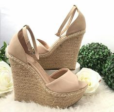 sandals heels for women size 12 High Heel Boots, Heeled Boots, Shoe Boots, High Heels, Cute Sandals, Cute Shoes, Me Too Shoes, Shoes Heels Wedges, Wedge Heels