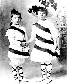 Henry Fonda and sister Harriet,