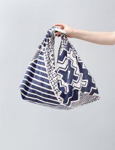 PAM Vibrations Knot Shoulder Bag- Indigo