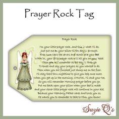 Prayer rock poem kid version good idea for a gifti am prayer rock tags cu digital printable immediate download negle Choice Image