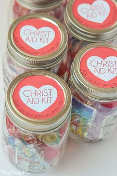 This Christ Aid Kit is the perfect handout idea for a lesson on the Atonement Young Women Lessons, Young Women Activities, Faith In God For Girls Activities, Girls Camp Handouts, Young Women Handouts, Activity Day Girls, Activity Days, Sunday School Lessons, Sunday School Crafts