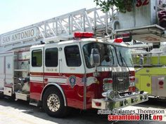 San Antonio Fire Department Aerial Platform / Tower Ladder apparatus
