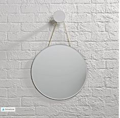Shop Looking Glass Round Mirror. Our Glass Mirror is available in a variety of different shapes and styles, so you can find one that reflects your mood perfectly. Kids Mirrors, Round Mirrors, Glass Mirrors, Girl Bedroom Walls, Home Decor Bedroom, Girl Room, Bedroom Ideas, Baby Nursery Decor, Kids Decor