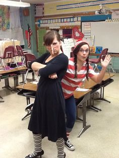 Need some ideas for dressing up as a book character?  Here are many, many ideas! book characters, book character dress up ideas, dressing up, teacher