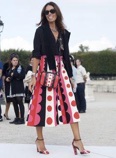 Best dressed at Paris Fashion Week - Telegraph