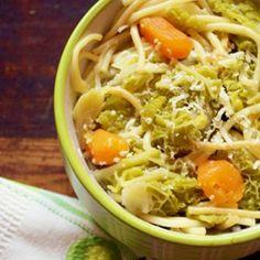 Pasta con cavoli e patate #food #italianfood #pasta #vegetarian #foodphotography