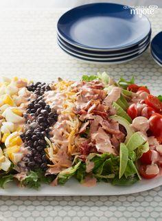 Salade cobb à la mode du Sud-ouest #recette