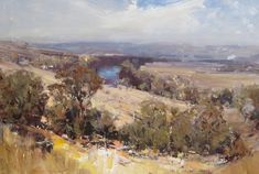 Ken Knight is a remarkable artist and a prolific award winner in traditional realist art circles who has been capturing the unique landscape of Australia for over 25 years following his first solo exh