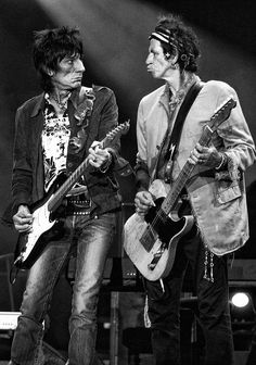 Ronnie Wood & Keith Richards ♡