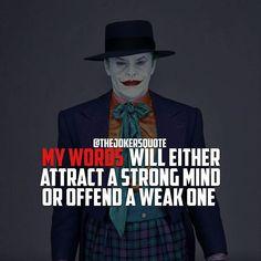 Must Follow @TheJokersQuote @TheJokerSayings For Daily Motivation And Inspirational Quotes #quote #villain #inspiration #motivation #motivational #business #boss #joker #thejoker #jokerfans #jokerlife #jokerlover #whysoserious #jokerquotes #jokerquote #jokerquotesarethebest #kingofgotham #jaredleto #insanity #anarchy #dcvillain