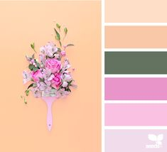 posted daily for all who love color. Office Color Schemes, Colour Schemes, Color Combos, Design Seeds, Colours That Go Together, Spring Images, Spring Design, Modern Colors, Color Pallets