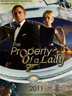 james bond - a property of a lady