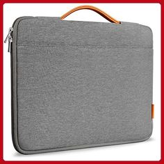 """Inateck 13-13.3 Inch Macbook Air/ Macbook Pro / Pro Retina Sleeve Case Cover Protective Bag Ultrabook Netbook Carrying Case Briefcases for 13"""" Macbook Air, MacBook Pro (Retina), Dark Gray - Fun stuff and gift ideas (*Amazon Partner-Link)"""