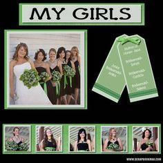 Wedding Scrapbook Pages   wedding-feb19-008-Page-9 - Digital Scrapbooking Layout Gallery ...