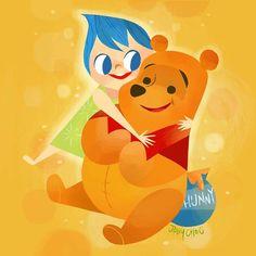 Joey Chou | Inside Out | Winnie the Pooh