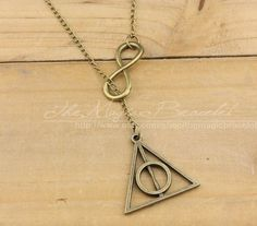 Harry Potter necklace - the true geek in me just squeeled a little;)