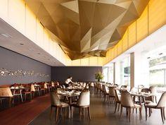 Jing Restaurant, Singapore by Antonio Eraso.  polygonal strop