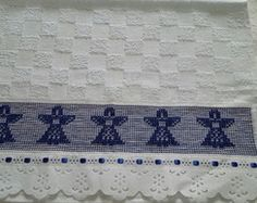 Toalha Lavabo - Natal
