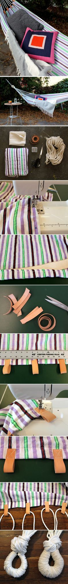 DIY: Make a hammock