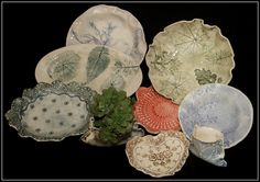 Love & Lace Ceramics: Uniquely hand crafted plates created with ceramic clay.