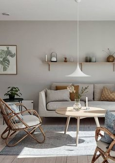 If you love island life, Scandinavian design and nature. Have a look at this stunning architect family villa is nestled on the island of Brännö, Sweden. Living Room Designs, Living Room Decor, Living Spaces, Cute Dorm Rooms, Cool Rooms, Villa, Farmhouse Side Table, Beautiful Living Rooms, Home Interior Design