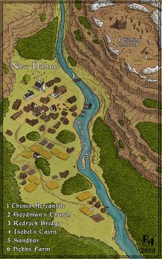 Isometric Map, Village Map, Dungeon Maps, Fantasy Map, City Maps, Birds Eye View, Top View, Dungeons And Dragons, Cemetery