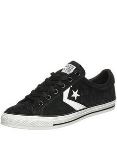d07e95980e266e  Converse Star Player LS  Shoes in Black White  59.99