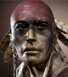 mohawk hunter-war paint by dave mcgary Native American Warrior, Native American Tribes, Native American History, American Indians, Native Indian, Native Art, Indiana, Tattoo Old School, Native American Pictures