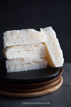 Steamed Rice Cake, Rice Cakes, Tall Cakes, Round Cakes, Asian Desserts, Chinese Desserts, Chinese Recipes, Easy Asian Recipes, Indian Food Recipes