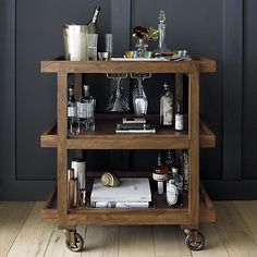 Collins Bar Cart | Crate and Barrel