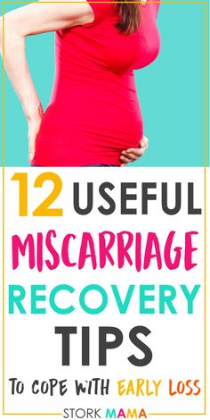 Are you experiencing a  miscarriage and don't know what to expect? Use these 12 useful  miscarriage recovery tips to help your body heal physically and  emotionally. Miscarriage awareness is vital for TTC moms as it's a topic  people don't discuss. #ttc #tryingtoconceive #miscarriage  #miscarriagerecovery #pregnancyloss #infertility