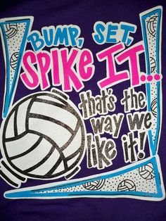 Southern Chics Funny Bump Spike Volleyball Girlie Bright T Shirt - Funny Volleyball Shirts - Ideas of Funny Volleyball Shirts - Southern Chics Funny Bump Spike Volleyball Girlie Bright T Shirt Volleyball Chants, Volleyball Signs, Spike Volleyball, Volleyball Posters, Volleyball Outfits, Volleyball Quotes, Volleyball Pictures, Coaching Volleyball, Volleyball Ideas