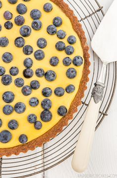Mango Curd Tart with Toasted Coconut Crust