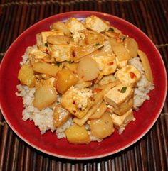 Tofu, Water Chestnut, Bamboo Shoot, and Pineapple Stir Fry | Simple Dish | Quick, Easy, & Healthy Recipes for Dinner