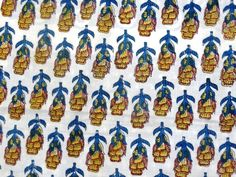 Indian Hand Block Print Dressmaking Cotton Fabric Craft Sewing By Yards A304 #Handmade