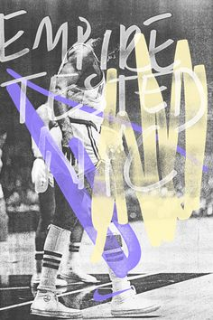 Retro Nike poster