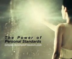 Each day we have choices, we can choose to lower our standards or raise the bar. We can choose to settle or achieve the life we truly desire. This short eye opening video has a hidden clue if you're ready for it watch now