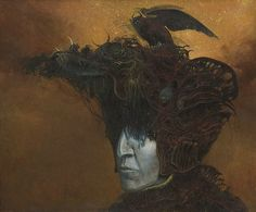 I have recently discovered the most amazing Zdzislaw Beksinski and his surrealist paintings. Arte Horror, Horror Art, Gothic Horror, Dark Fantasy, Fantasy Art, Fantasy Paintings, No Photoshop, Artistic Photography, Surreal Art