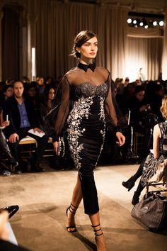 Marchesa runway presentation at New York Fashion Week, Fall 2013; photo by Jamie Beck