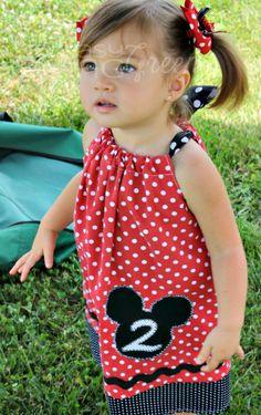 Mickey Mouse Birthday Dress