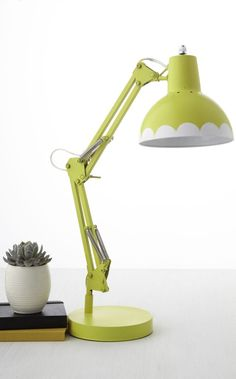 Make your own sunshine on a gloomy winter day with this DIY painted task lamp using Martha Stewart Crafts from /michaelsstores/!
