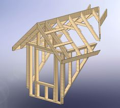 48x28 Garage with Attic and Six Dormers