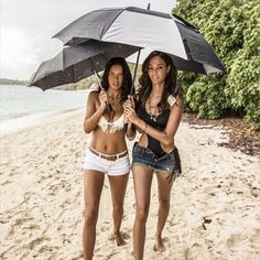Adriana Lima and Joan Smalls for Victoria's Secret Swim 2015 in Puerto Rico January 2015 VS Swim Special Joan Smalls, Adriana Lima, Toni Garrn, Anja Rubik, Victoria Secret Angels, Victoria Secret Swim, Victoria's Secret, Secret Photo, Vogue Paris