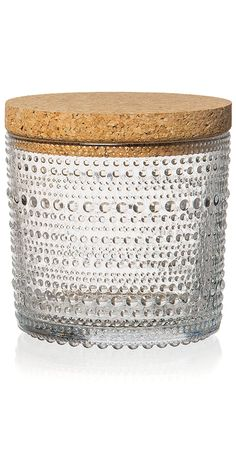 Kastehelmi' Tall Store Jar, Clear - David Mellor Design