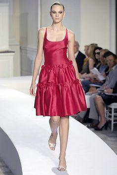 Oscar de la Renta Spring 2008 Ready-to-Wear Fashion Show - Irina Kulikova