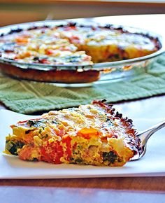 14. Tomato, Bacon and Arugula Quiche With Sweet Potato Crust #whole30 #recipes http://greatist.com/eat/whole30-recipes-for-lunch