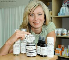 Dr. Anna a Barrie Advance feature on Olive Baby