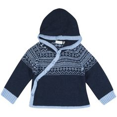 Fair Isle Baby Wrap Cardigans, Knitwear For Babies, Baby