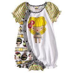 Harajuku Mini for Target® Infant Girls Summer Romper - Multicolor